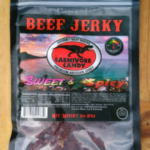 Sweet & Spicy Tender Beef Jerky